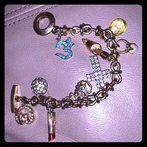 St. John gold charm bracelet